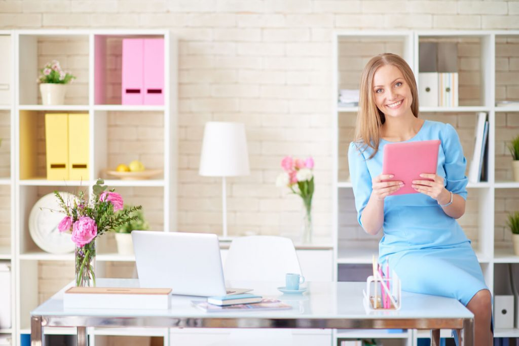 How Flowers Improve Workplace Productivity