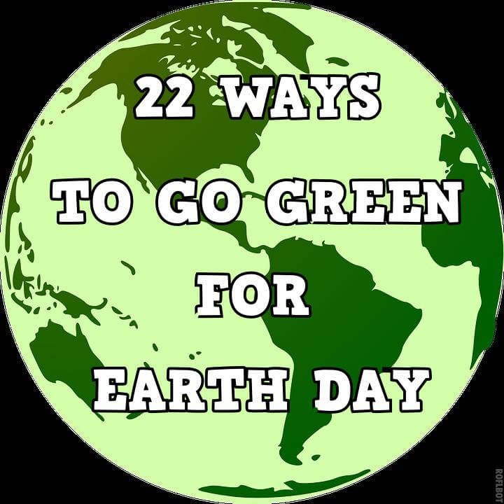 22 ways to go green