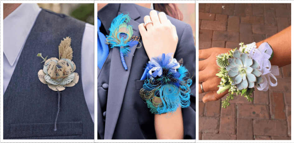 Corsage & Boutonniere Alternatives for Those With Allergies
