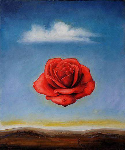 Meditative Rose-Dali