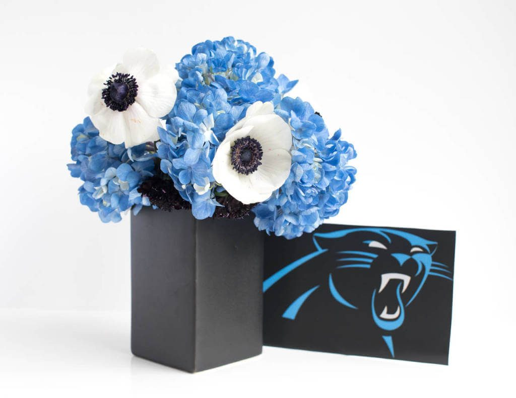 Flower Ideas for Superbowl Parties