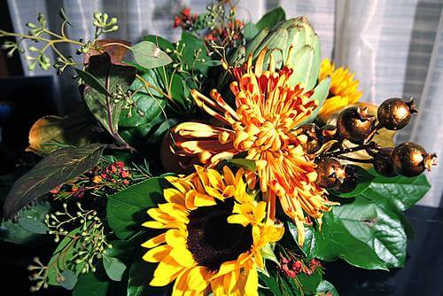 Flowers for your autumn wedding