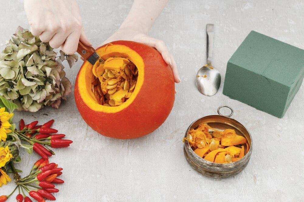 Halloween pumpkin DIY 3