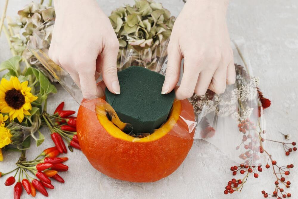 Halloween pumpkin DIY 6