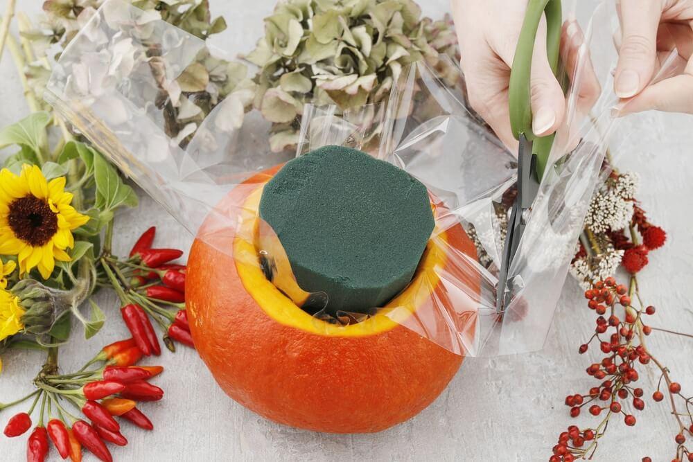 Halloween pumpkin DIY 7