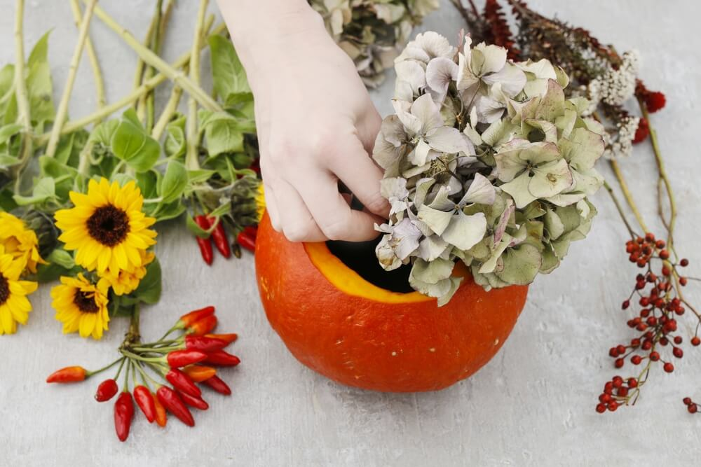Halloween pumpkin DIY 8