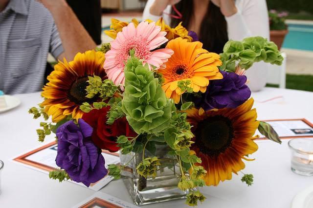 Sunflower & Roses Arrangement