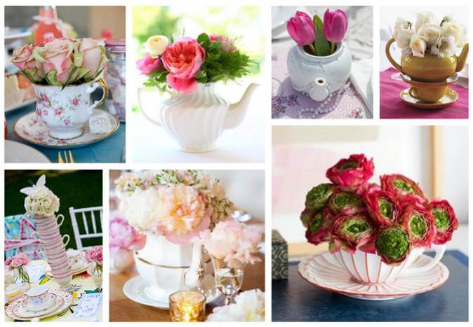 Flowers and Wedding Reception Decor