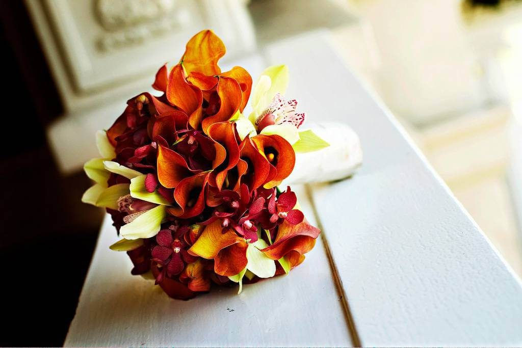 You'll 'Fall' In Love With These Seasonal Wedding Bouquet Ideas