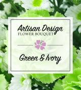 Artist's Design: Green and Ivory