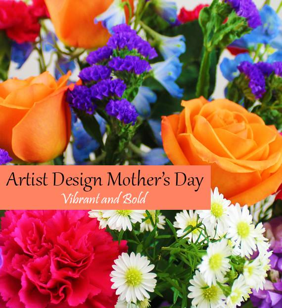 Artist's Design Mother's Day - Vibrant and Bold