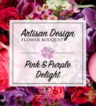 Artist's Design: Pink & Purple Delight