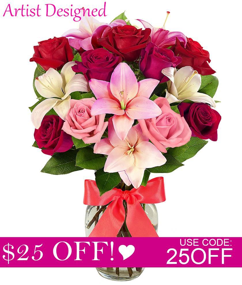 Artist's Design Romantic Bouquet