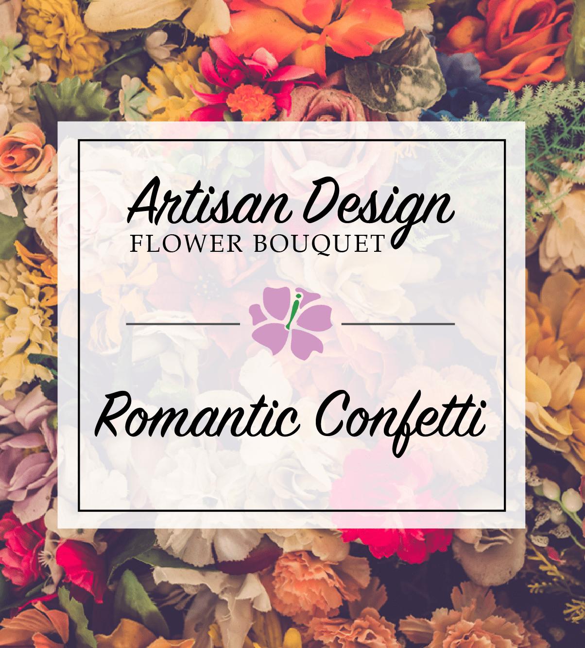 Artist's Design: Romantic Confetti
