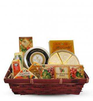 Assorted Cheese Basket