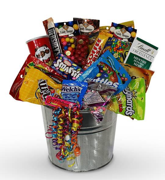 Sweet Snack Attack Basket