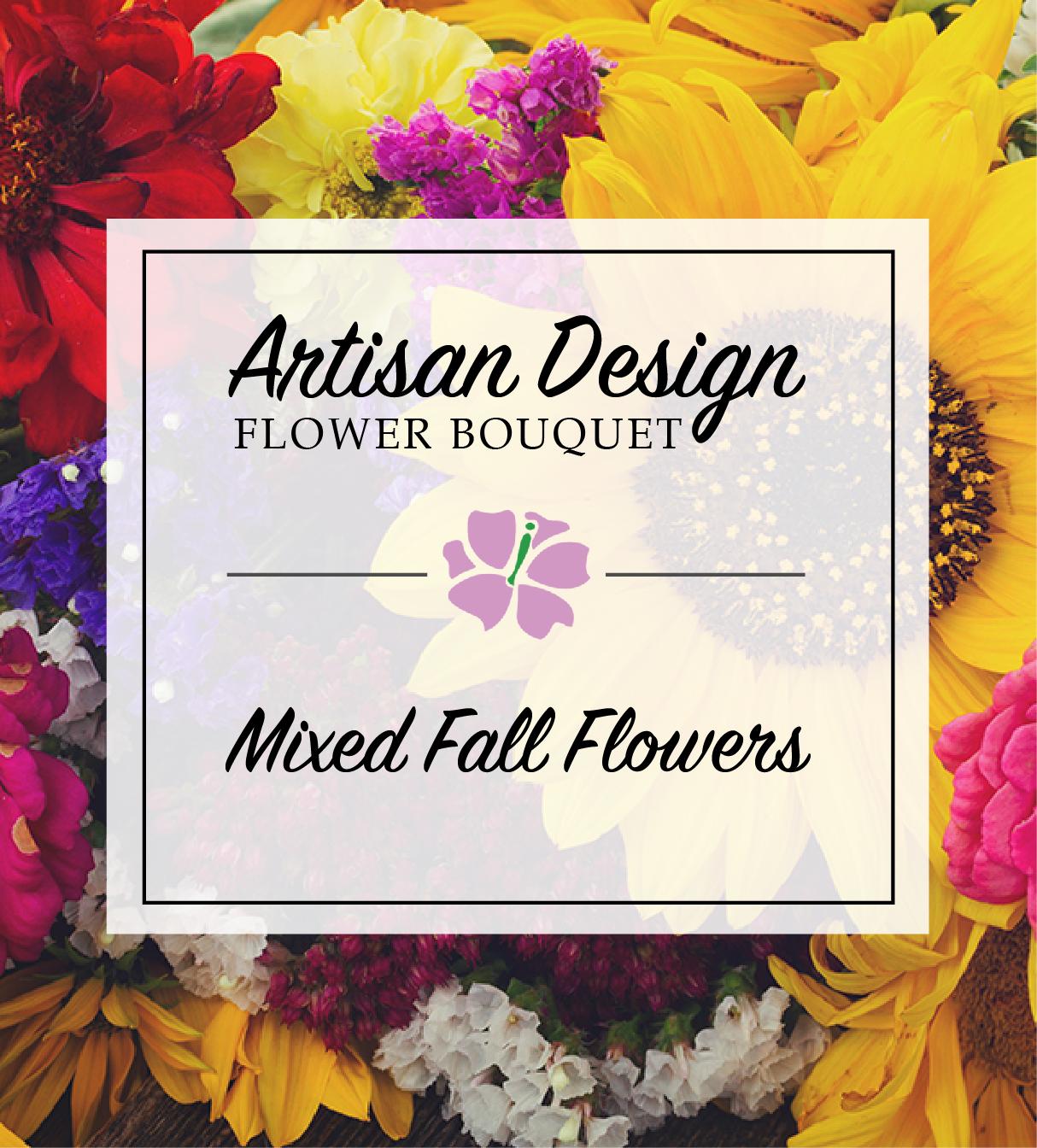 Mixed Autumn Flower Bouquet