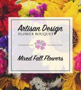 Mixed Autumn Flower Bouquet