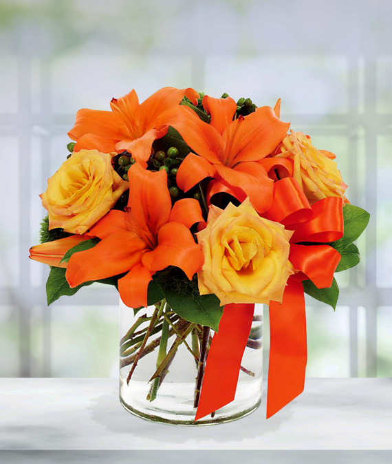 Orange Sunset Bouquet