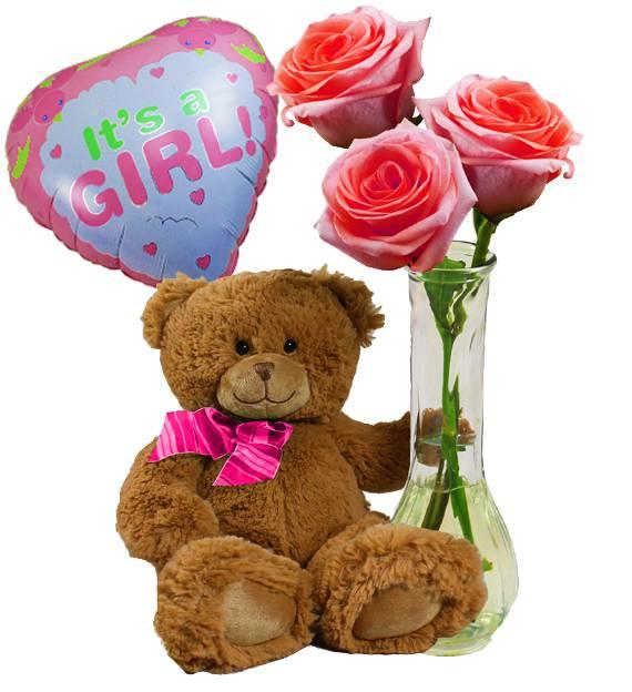 Baby Girl Pink Gift Set