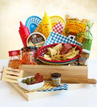 Backyard Barbecue Gift Crate