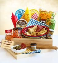 Backyard Barbecue Gift Crate