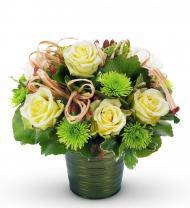 Basket of Dreams Jade Bouquet