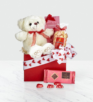 Bear Hugs Gift Box for Valentine's Day