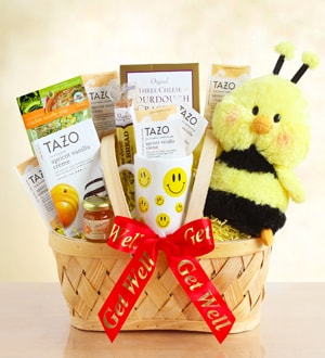Bee Well Gift Basket