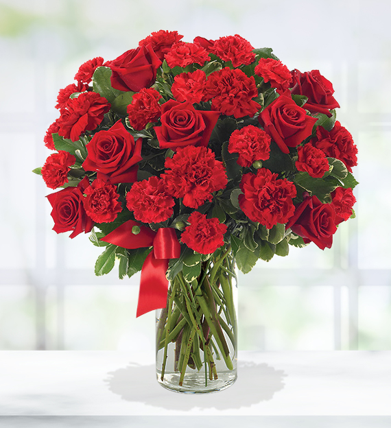 Rose & Carnation Masterpiece