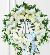 Blue Sympathy Wreath