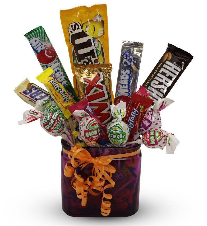Make An Impression With Our Big Daddy Candy Bouquet