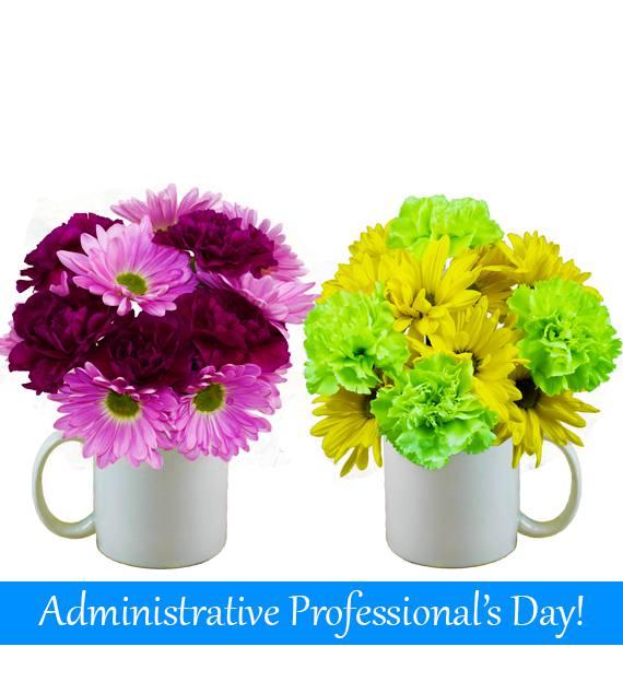 Cheers to You Floral Mug Set