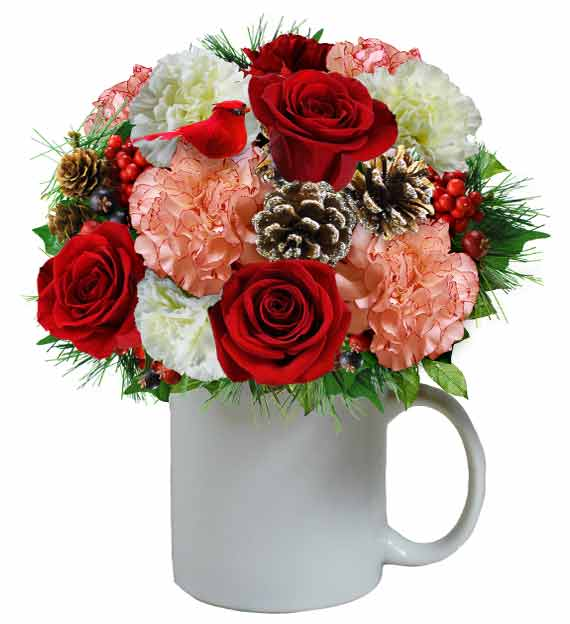 Christmas Morning Bouquet