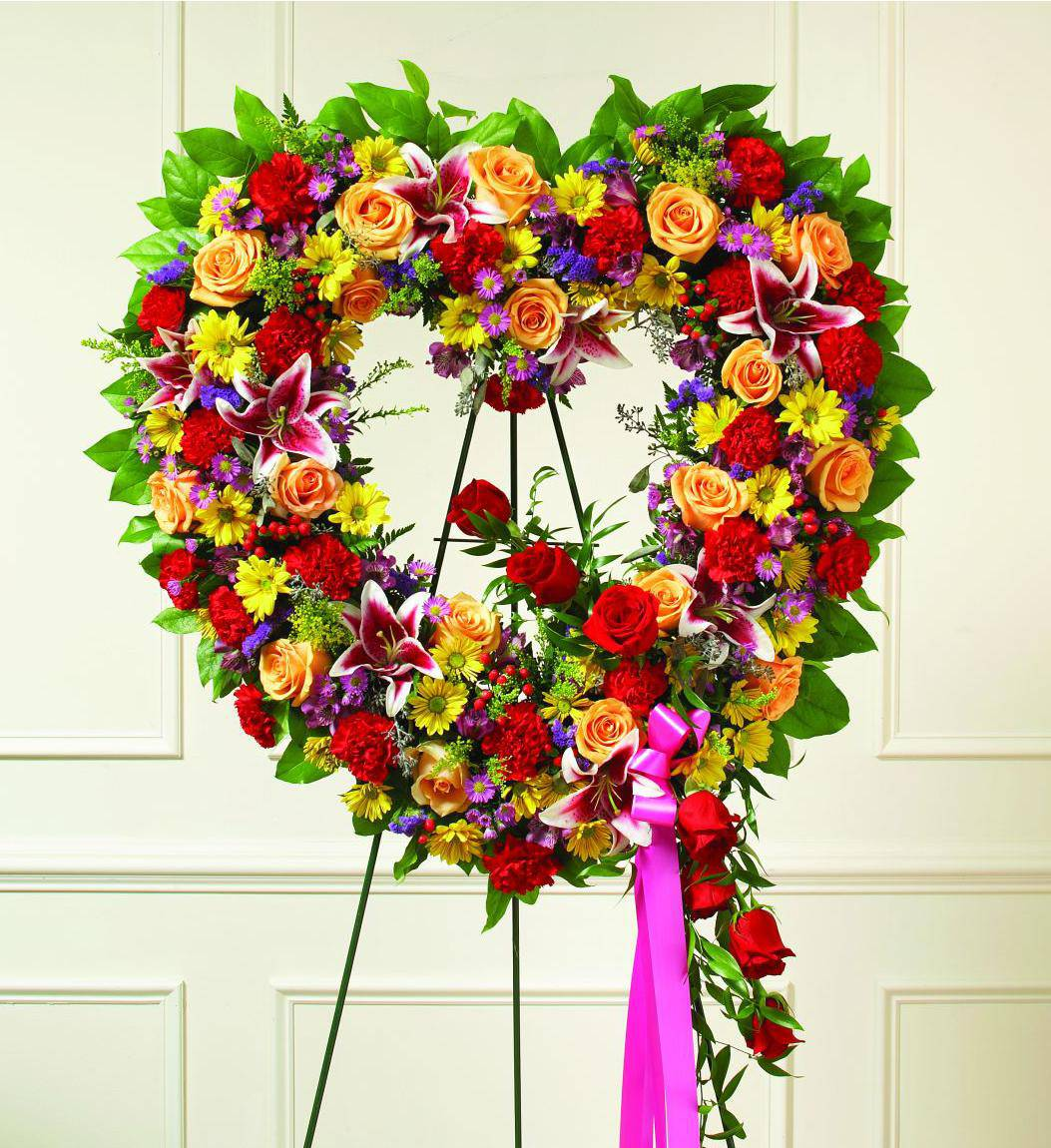 Top 28 colorful wreaths multi colored burlap wreath for Colorful summer wreaths