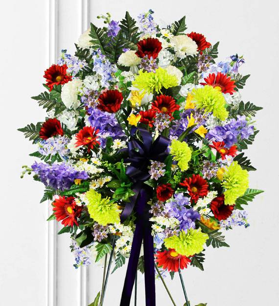 Colorful Sympathy Spray