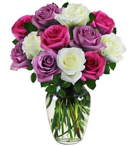 Flowers: Assorted Roses - Deluxe