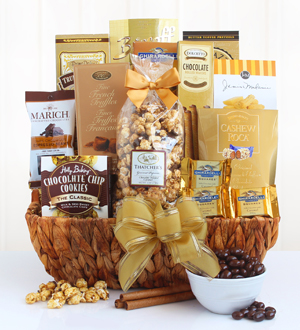 Delightful Decadence Chocolate Gift Basket