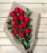 One Dozen Red Roses - Farm Fresh