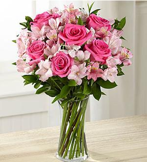 Flowers: Dreamland Pink Rose Bouquet