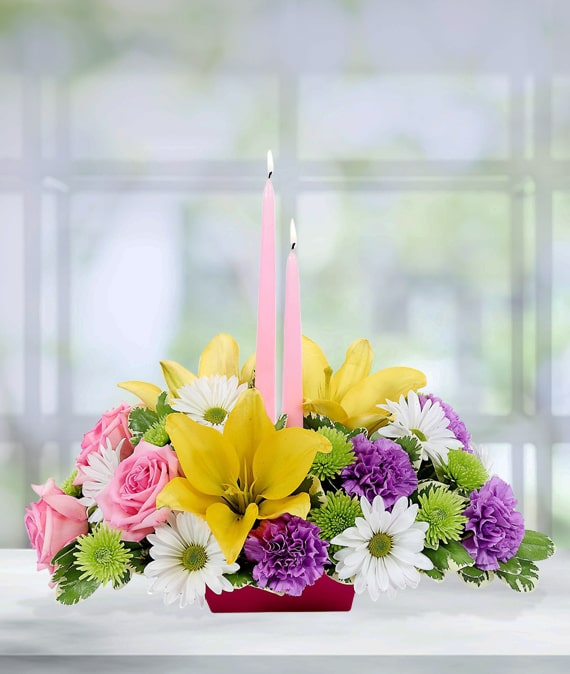 Easter Flower Centerpiece