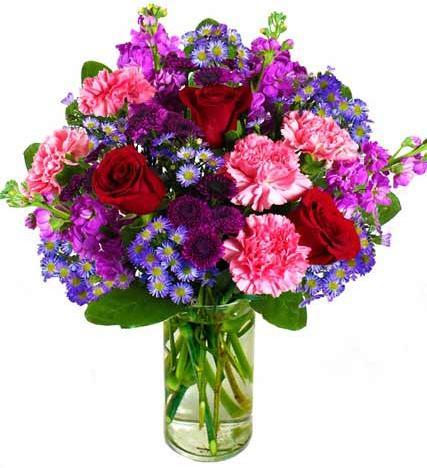Flowers: Enchanted Rose Garden Bouquet