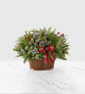 Evergreen Dream Holiday Basket