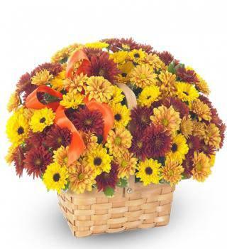 Fall Blooms Basket