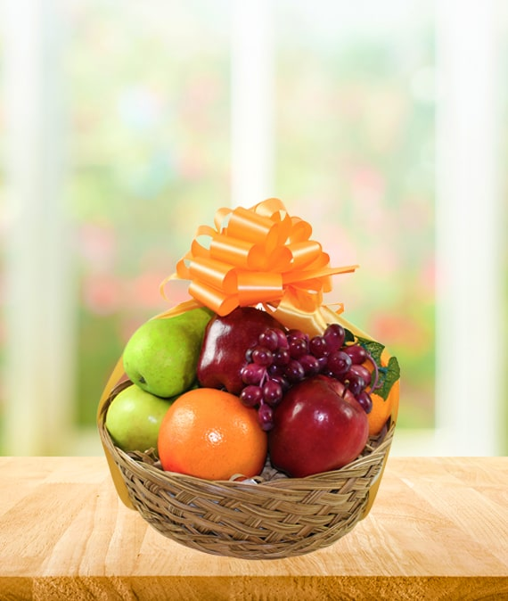 Fresh Fruit Sympathy Basket