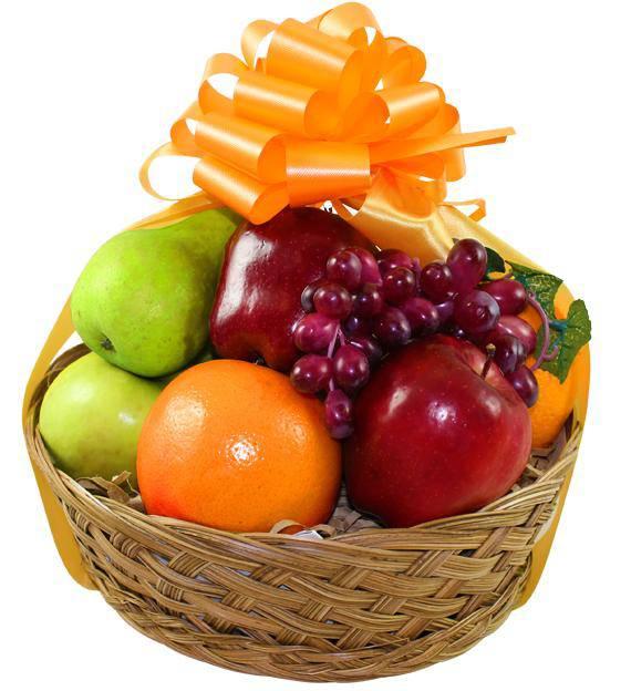Fresh Fruit Basket Avas Flowers