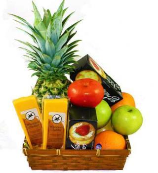 Fruit and Cheese Box - Farm Fresh