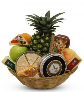 Fruit and Cheese Gourmet Basket