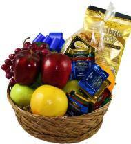 Fruit and Chocolate Sympathy Basket