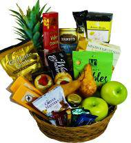 Fruitful Greetings Sympathy Basket